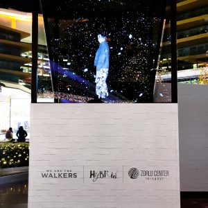 We Are The Walkers Hologram Statue