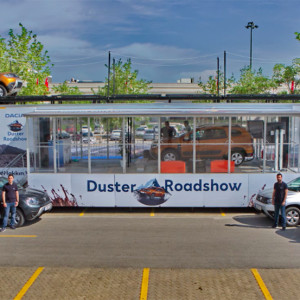 Ducia Duster Roadshow VR Experience